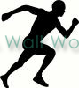 runner vinyl decal