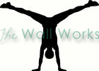 hand stand vinyl decal