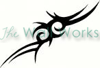 tribal tattoo (1) vinyl decal