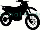 dirt bike vinyl decal