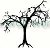 Tree (4) vinyl decal