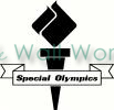 Special Olympics vinyl decal