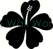 flower (3) vinyl decal