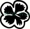 flower (7) vinyl decal