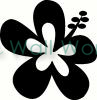 Flower (13) vinyl decal