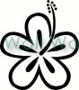 flower (14) vinyl decal