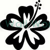flower (16) vinyl decal
