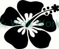 Flower (23) vinyl decal