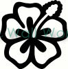 flower (24) vinyl decal