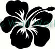 Flower (25) vinyl decal