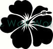 Flower (28) vinyl decal
