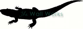 Crocodile vinyl decal