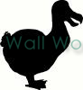 Dodo Bird vinyl decal