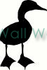 Duck vinyl decal