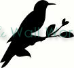 Woodpecker vinyl decal