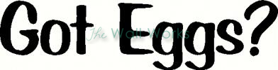 Got Eggs? vinyl decal