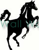 Black Horse vinyl decal