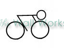 street bike vinyl decal