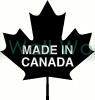 Made in Canada vinyl decal