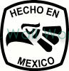 Hecho en Mexico (2) vinyl decal
