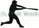 Baseball Swing vinyl decal