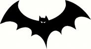 bat vinyl decal