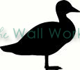 Duck 2 vinyl decal