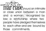united in marriage