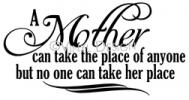 Mother vinyl decal