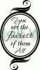 Fairest of Them All vinyl decal