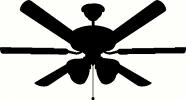 ceiling fan vinyl decal