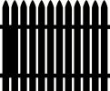 fence vinyl decal