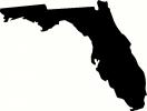 Florida vinyl decal