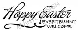 Every Bunny Welcome vinyl decal
