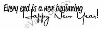 every end is a new beginning vinyl decal