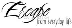 Escape From Everday Life (1) vinyl decal
