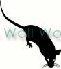 Mouse (1) vinyl decal