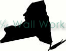 new york vinyl decal