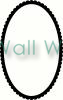 Oval Frame (4) vinyl decal