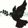 Peace Dove (1) vinyl decal