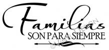 Families Are Forever (1) vinyl decal