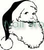 santa claus vinyl decal