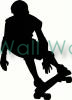 Skateboarder (1) vinyl decal