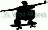 skateboarder (3) vinyl decal