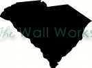 south carolina vinyl decal