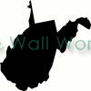 west virginia vinyl decal