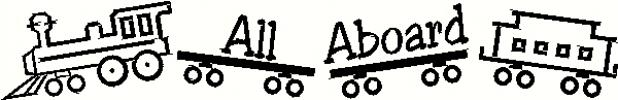 all aboard train vinyl decal