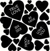 Conversation Hearts Set vinyl decal