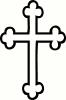 Cross (1) vinyl decal