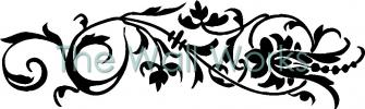 Flower Embellishment 1 vinyl decal